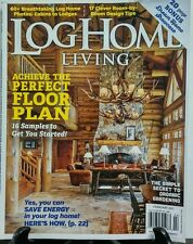 Log Home Living Feb 2017 Achieve The Perfect Floor Plan Cabins FREE SHIPPING sb
