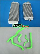FOR KAWASAKI KXF250 KX250F KX 250F 2007 2008 aluminum radiator and Y hose