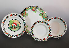 "Mary Engelbreit 4 Pcs Place Setting ""Home Sweet Home"" Dinnerware - Nos - 8 Avail"