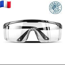 Protection-des yeux-Lunettes-de sécurité-Travail Coupe-vent Étanche à poussière