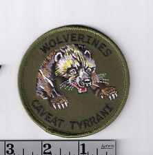 Wolverines embroidered patch > Red Dawn > freedom fighters > patriots