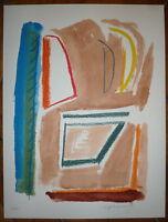 Ràfols-Casamada Albert lithographie signée art abstrait abstraction Espagne Art