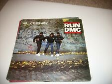 "RUN DMC- WALK THIS WAY VINYL 7"" 45RPM PS"