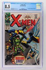X-Men #36 - Marvel 1967 CGC 8.5 1st Appearance of Mekano (Tom Regal).