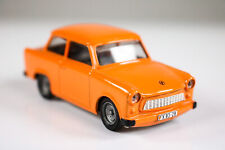 Trabant 601 model car Vitesse Orange Toy Car DDR
