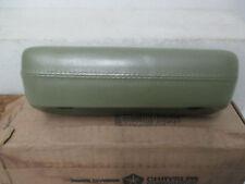 Mopar NOS 1968 Dodge Dart 4Door Sedan 2Door Hardtop Front Green Arm Rest 1214DF5