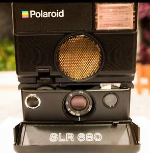 Polaroid SLR680 Autofocus Land Camera