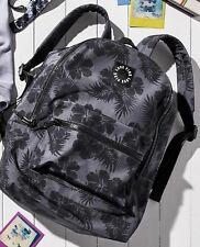 Victoria's Secret PINK Backpack Lightweight Floral School Campus Travel Bag Tote