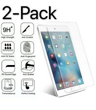 """2-PACK For Apple iPad Pro 10.5"""" HD Clear Tempered Glass Screen Protector Guard"""
