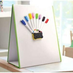 Magnetic Dry Erase Easel with Pens and Eraser - A3