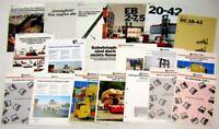 19 Prospekte zu Kalmar Irion Staplern 80er und 90er Jahre Technische Daten