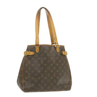 LOUIS VUITTON Monogram Batignolles Vertical Tote Bag M51153 LV Auth th922