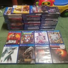 50+ Ps4 Games! Some New! Final Fantasy Vii Remake, Crash Bandicoot, Minecraft!
