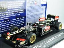 LOTUS F1 TEAM E20 2013 SHOW MODEL CAR 1/43RD SCALE BLACK/GOLD EXAMPLE T3412Z(=)