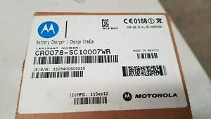 Genuine Motorola Scanner Chargers & Cradles CR0078SC10007WR Brand New See Pics