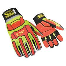 RINGERS GLOVES 347-08 Glove,Rescue,Cut Resistant,S,Hi-Vis,Pr