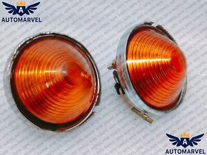 Jeep Willys Cj3B Cj3 Cj5 Cj6 Turn Signal Amber Light Indicator