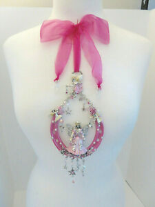 NEW KIRKS FOLLY PROTECTED BY A FAIRIES GODMOTHER ORNAMENT PINK