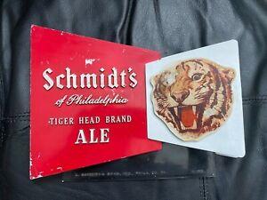 Schmidt's Tiger Head Brand Ale Advertising Sign -  Philadelphia, PA.