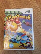 FlingSmash Nintendo Wii New Sealed Game L@@K W2