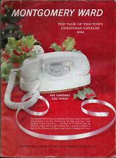 1964 MONTGOMERY WARD '64 CHRISTMAS Catalog Wishbook WARDS