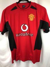Vintage Manchester United Vodafone Men's Team Jersey David Beckham Size 44