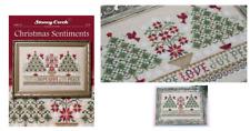 STONEY CREEK Cross Stitch Pattern Leaflet CHRISTMAS SENTIMENTS 318