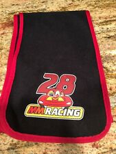 Disney Boy Winter Scarf Fleece Black Red Mickey Mouse Racing Soft 3-8 yrs