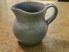 Beautiful Blue Glaze NORTH STATE ART POTTERY Sanford North Carolina Creamer