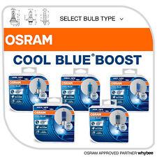 Osram Cool Blue Boost Headlight Bulbs Hyper Blue Light 5000K +50% More Light!