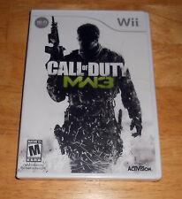 Call of Duty: Modern Warfare 3     ( Brand New)   *** Wii  Game***