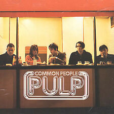 PULP CD COMMON PEOPLE USA PROMO 2 TRACK UNPLAYED W/ Art
