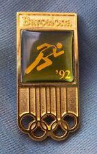 PIN BARCELONA'92 ATLETISMO DORADO. IMPECABLE