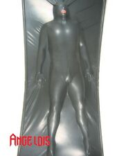 AngelDis latex vacuum bed vacbed huge size black deflated rubber bed #17001