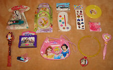 x3 pc DISNEY PRINCESS TOY LOT Doll Bag Wand Bell Icarly Necklace Disc Tinker