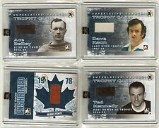 2013 ITG Superlative Fall Expo 1/1 Ted Kennedy Trophy Case Memorabilia