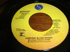 MORRISSEY RARE PROMO EVERYDAY IS LIKE SUNDAY SAME SONG