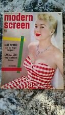 MODERN SCREEN MAGAZINE 1953 AUGUST-BETTY GRABLE-LEX BARKER ~Russell ~Monroe ~