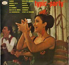 """LOU GAMME """"TYPIC-PARTY"""" LATIN JAZZ LP VEGA 12.083"""