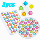3 Pack Sensory Fidget Toys ADHD Stress Relief Anti-Anxiety Bundle Set Tools Game
