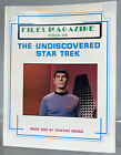Files Magazine The Undiscovered Star Trek Spock Cover Paperback Book 1987