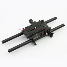 Dovetail Quick Release Plate Baseplate fr Manfrotto 501pl DSLR RIG GH4 A7S 5D2