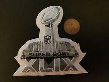 "Super Bowl XLIX (49) 3 1/2"" Logo Patch Football"