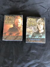 LORD OF THE RINGS trading cards x2