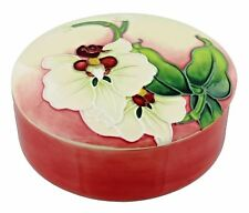 Old Tupton Ware Morning Orchid Trinket Box NEW ORCHID PORCELAIN TRINKET POT