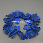 10 Pcs Dental Plastic-Steel Impression Trays Denture Instruments Materials Tray