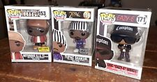 "Funko Pop! Rocks Notorious B.I.G,Tupac Shakur, Eric ""Eazy-E"" Wright Exclusives"