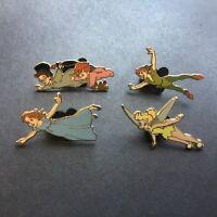 Walt Disney's Peter Pan 4 Pin Booster Collection Wendy Michael Disney Pin 60199