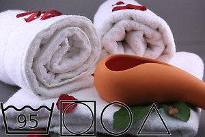 Duschtuch Baumwolle 70x140, weiß, 510g/m², Duschtücher, Bad, Einfarbig