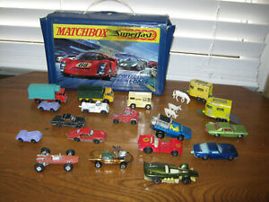 Vintage Matchbox Cars Mixed lot Hot Wheels Sizzler Johnny Lightning As Is